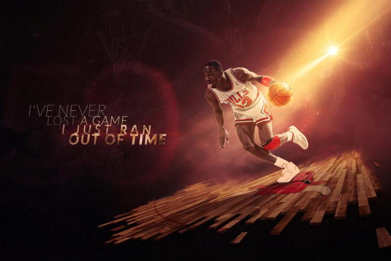 NBA Legends Michael Jordan Basketball