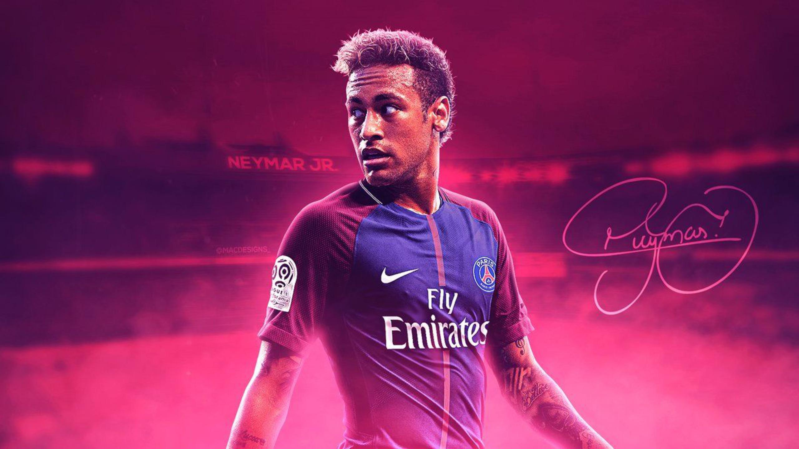 neymar hd wallpaper theme - sports fan tab