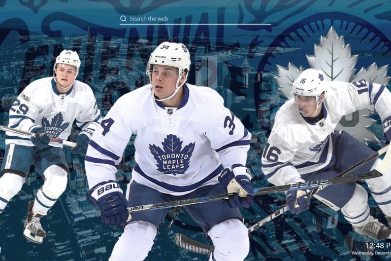 Toronto Maple Leafs Hd Wallpapers New Tab Sports Fan Tab