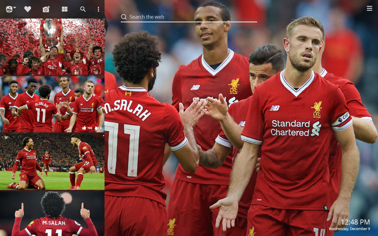 Liverpool Fc Hd Wallpapers New Tab Theme Sports Fan Tab