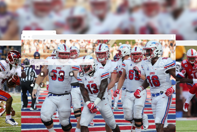 SMU Mustangs Football