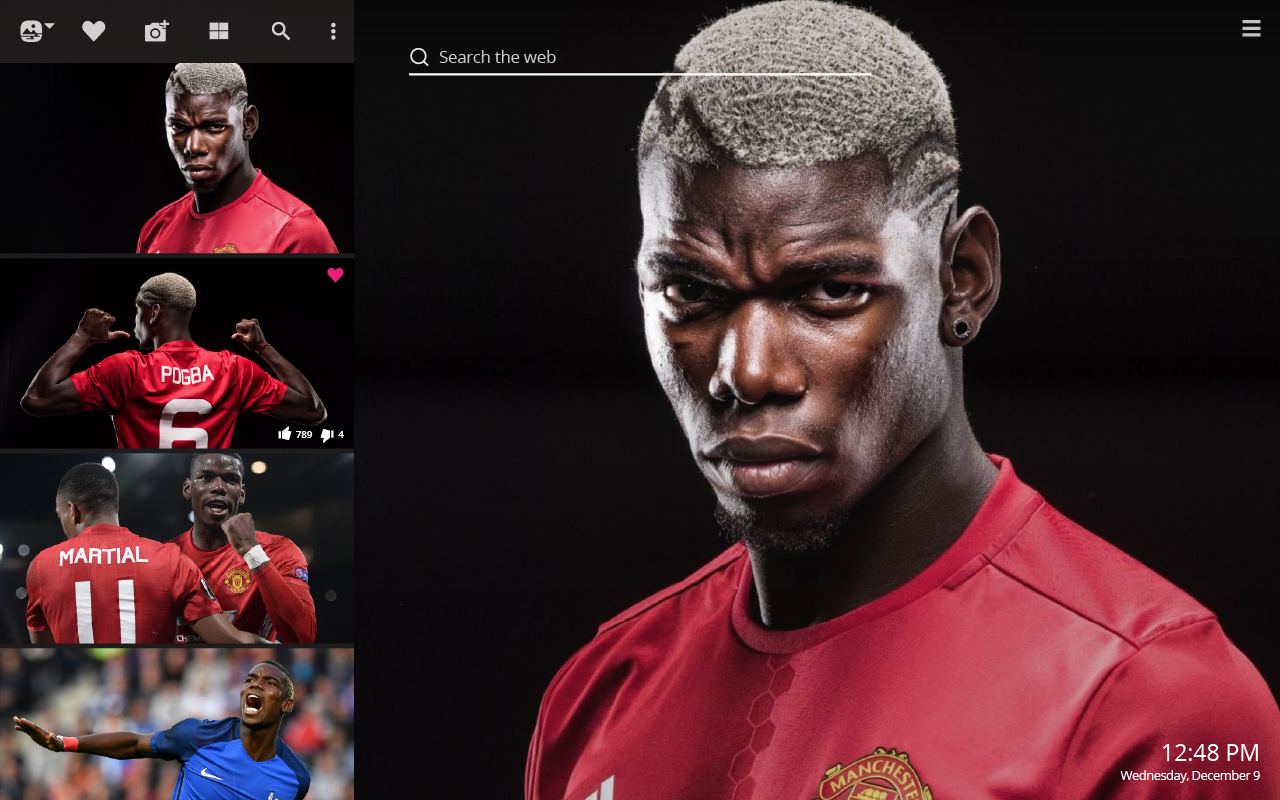 soccer player Paul Pogba