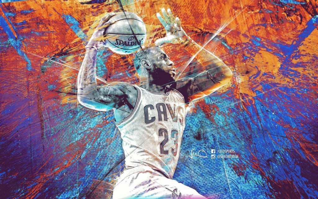 Lebron James NBA HD Wallpaper Theme